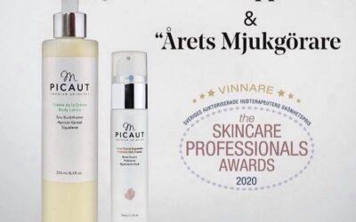 Vinnare igen  Mette Picaut  skincare  Grattis       finns hos oss